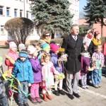 Pierwsze Tchnienie Wiosny Czyli Wizyta M Odzie Y U Burmistrza