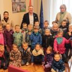 Przedszkolaki Z Wizyt U Burmistrza Brzegu