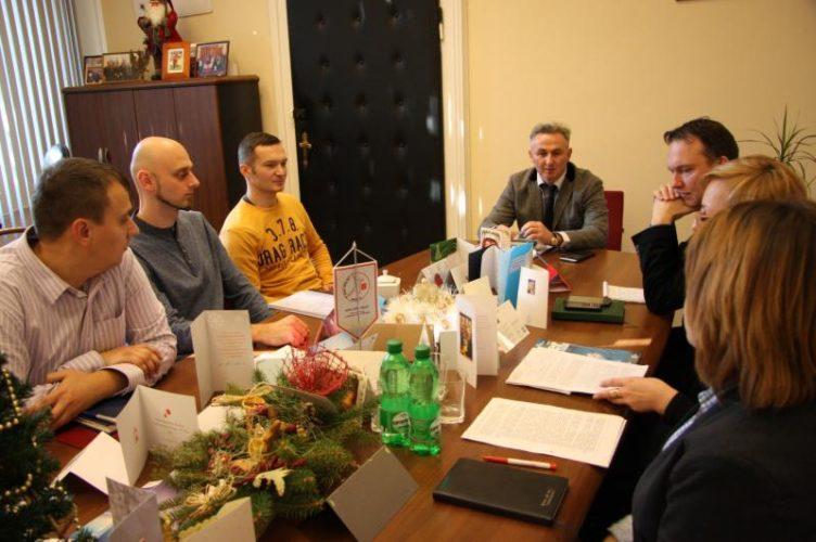 Spotkanie Burmistrza Brzegu Z Powiatowym Konserwatorem Zabytk W