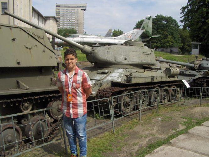 Lekcja patriotyzmu w Warszawie