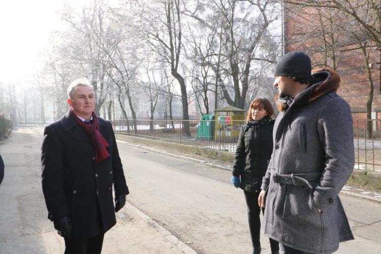 Nowe Inwestycje W Infrastruktur Miejsk Wizyta Robocza Burmistrza I Pracownik W Urz Du Miasta