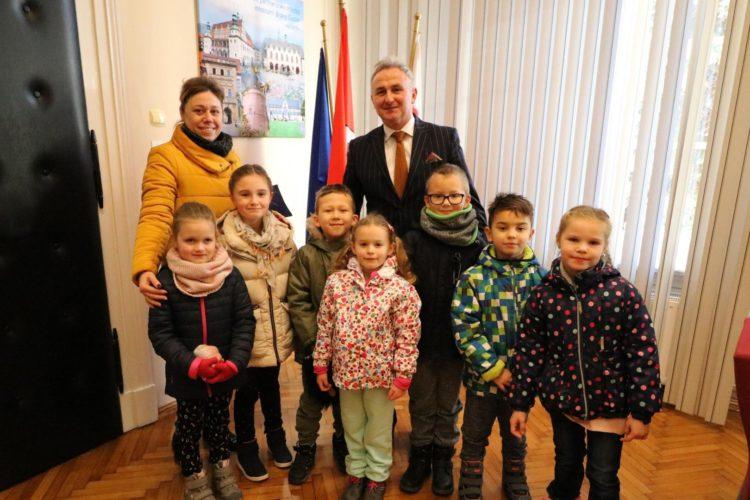 Dzieci Z Przedszkola Publicznego Nr 3 Z Wizyt U Burmistrza
