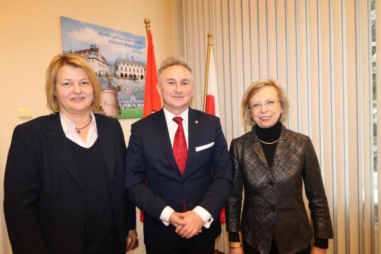 Konsul Generalna Republiki Federalnej Niemiec Z Wizyt U Burmistrza