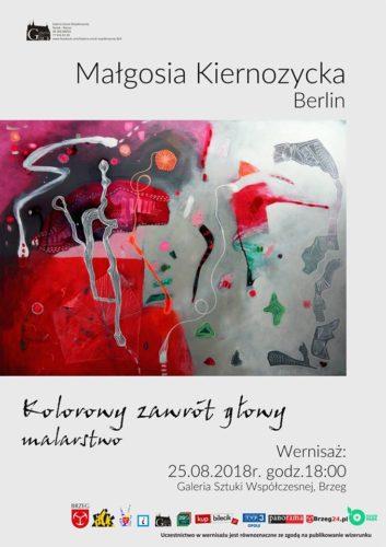 Wernisa Wystawy Quot Kolorowy Zawr T G Owy Quot M Kiernozycka Galeria Sztuki Wsp Czesnej Bck