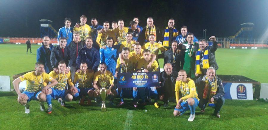 Stal Brzeg Zdobywa Wojew Dzki Puchar Polski