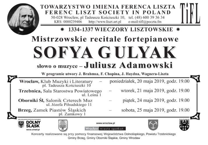 Koncert Z Cyklu Quot Wieczory Lisztowskie Quot Sofya Gulyak