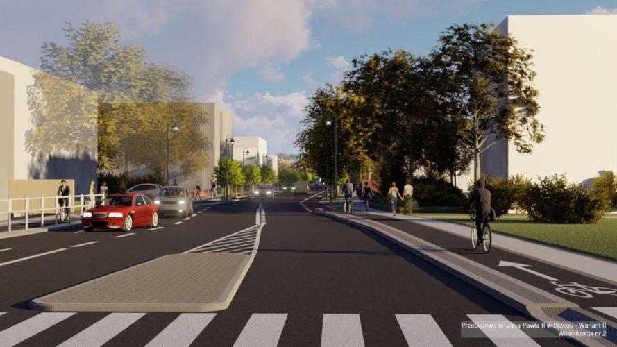 Projekt Zieleni Przyulicznej Dla Projektu Przebudowy Ulicy Jana Paw A W Brzegu
