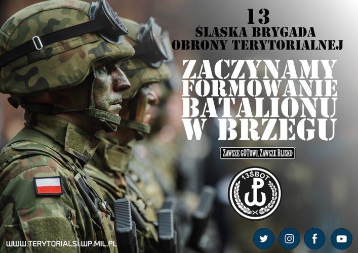 Trwa Nab R Do Formowanego W Brzegu Batalionu Wojsk Obrony Terytorialnej
