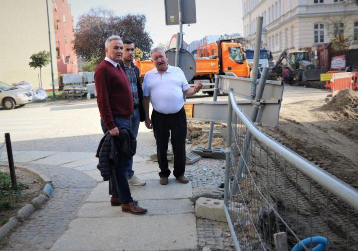 Trwa Budowa Nowego Ronda Na Skrzy Owaniu Ulic Mickiewicza Powsta C W L Skich Kamiennej I Ofiar Katynia