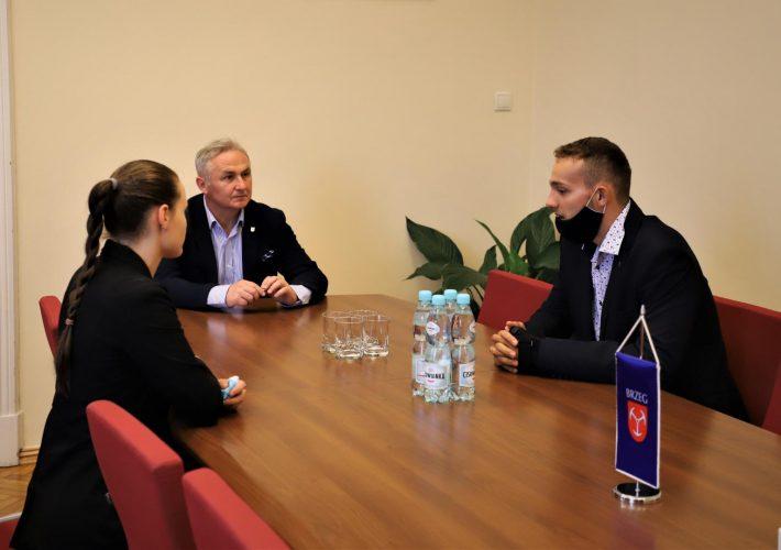 Spotkanie Burmistrza Brzegu Z Panem Marcelem Niemczykiem