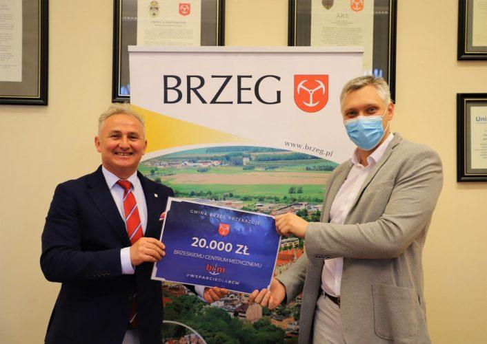 Kolejne Wsparcie Gminy Brzeg Dla Brzeskiego Szpitala