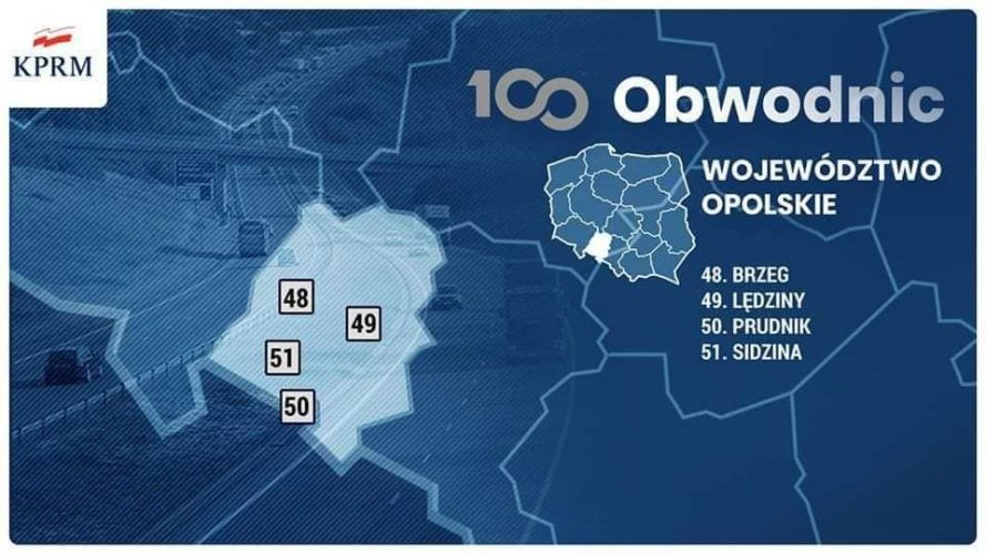 Brzeg W Programie Rz Dowym Budowy 100 Obwodnic Na Lata 2020 2030