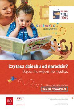 """Miejska Biblioteka Publiczna w Brzegu bierze udział w akcji """"Mała Książka, Wielki Człowiek"""""""