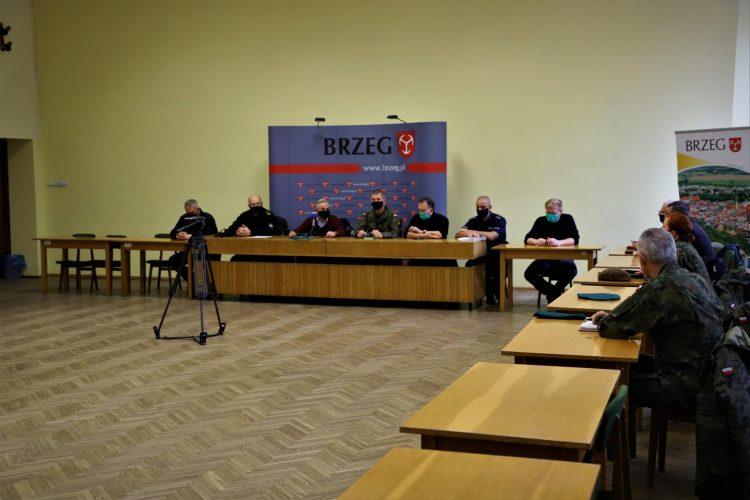 Niedzielne Posiedzenie Miejskiego Zespo U Zarz Dzania Kryzysowego
