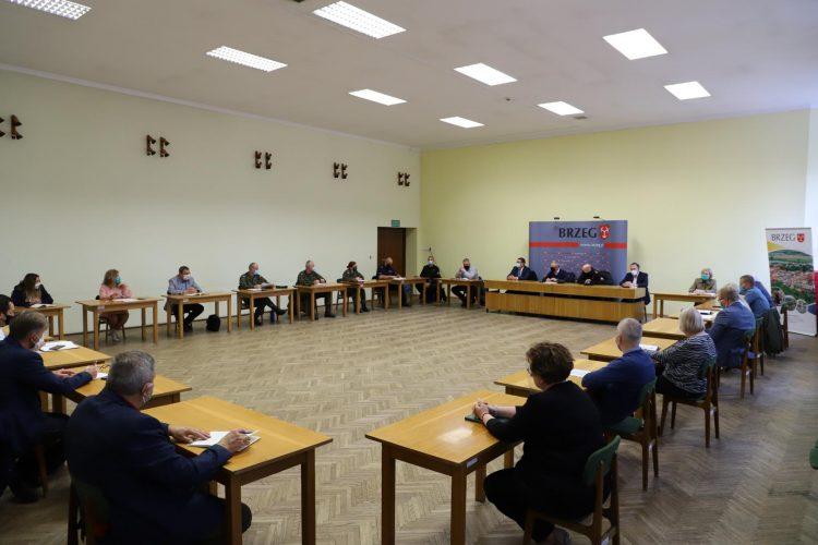 Czwarte Posiedzenie Miejskiego Zespo U Zarz Dzania Kryzysowego