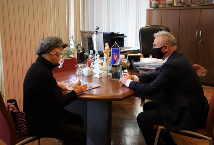 Spotkanie Z Prezesem Towarzystwa Mi O Nik W Lwowa I Kres W Po Udniowo Wschodnich