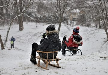 Brzeżanie ruszyli do śnieżnych zabaw!