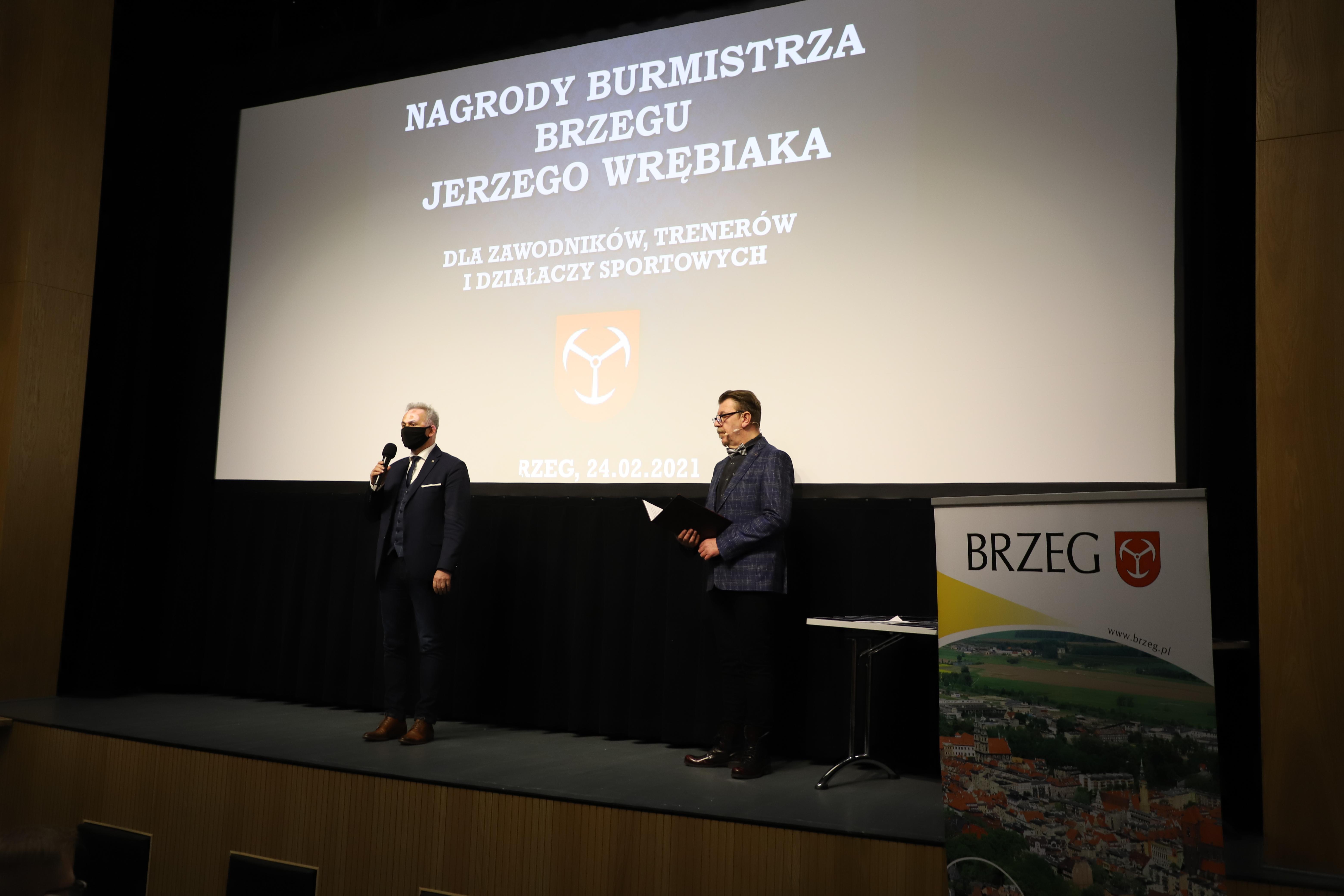 Uroczysta gala wręczenia nagród Burmistrza Brzeg...