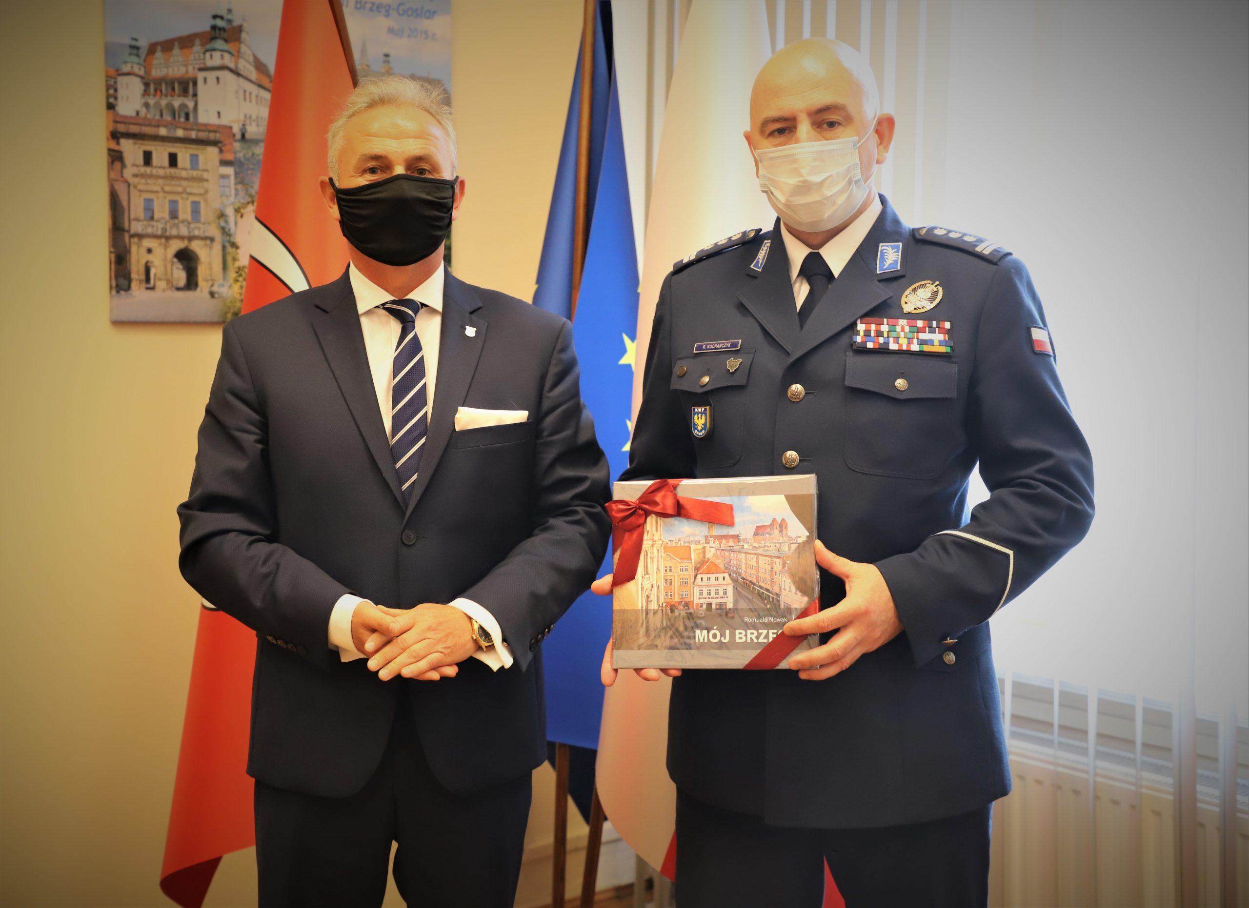 Spotkanie zKomendantem Policji Wojewódzkiej...