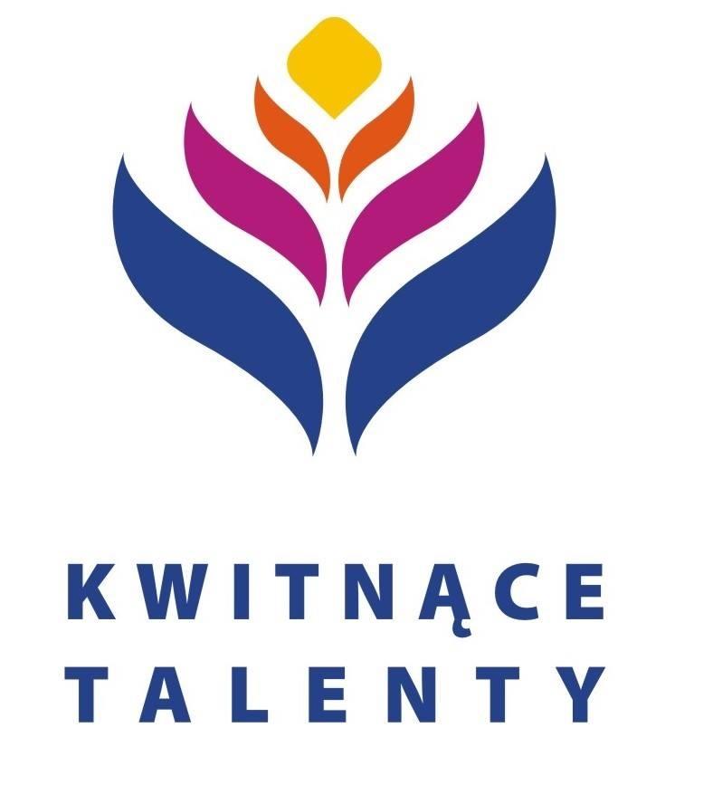 Logo Kwitnące Talenty