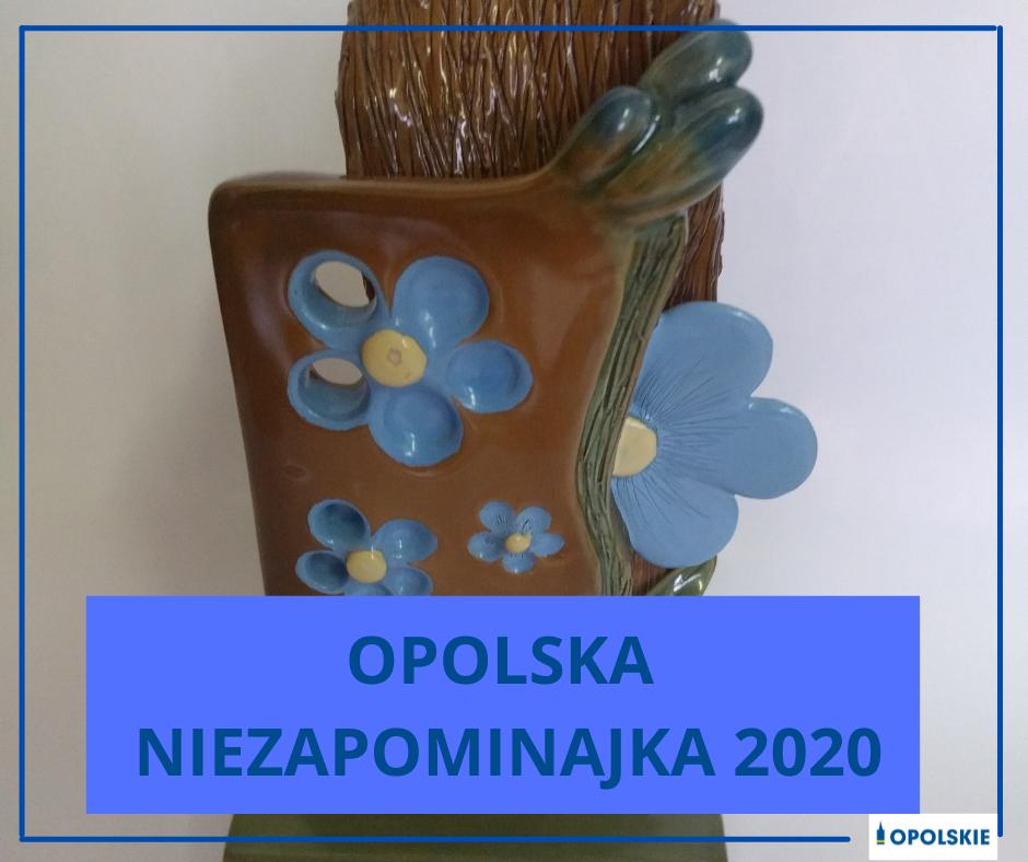 """Plakat """"Opolskiej Niezapominajki"""""""