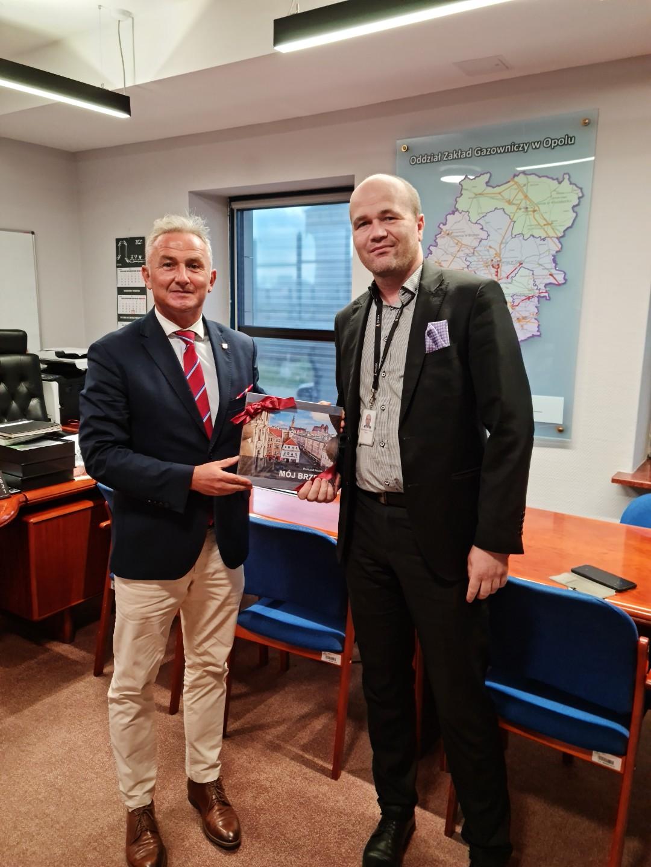 Spotkanie z dyrektorem Rafałem Adamiszynem