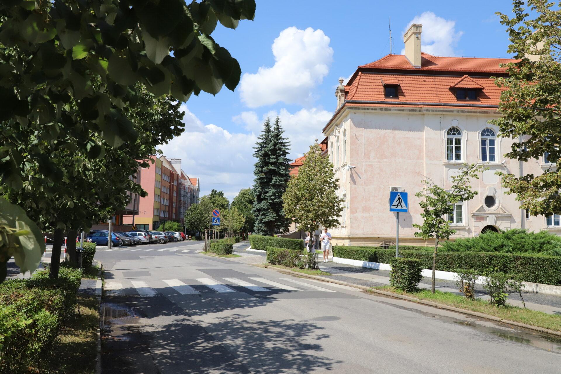 Ulica Robotnicza w Brzegu