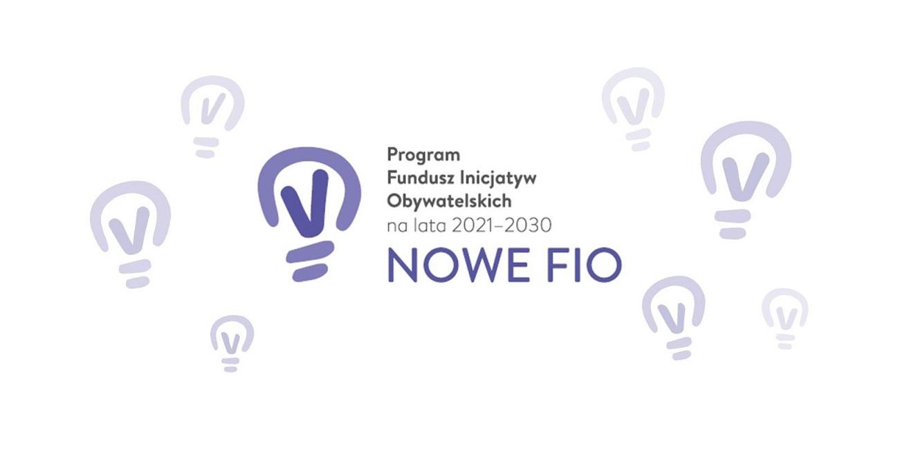 Logo Programu Funduszu Inicjatyw Obywatelskich na lata 2021 - 2030.