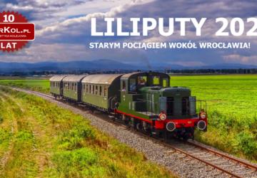 "Plakat pociągu retro ""Liliputy"""
