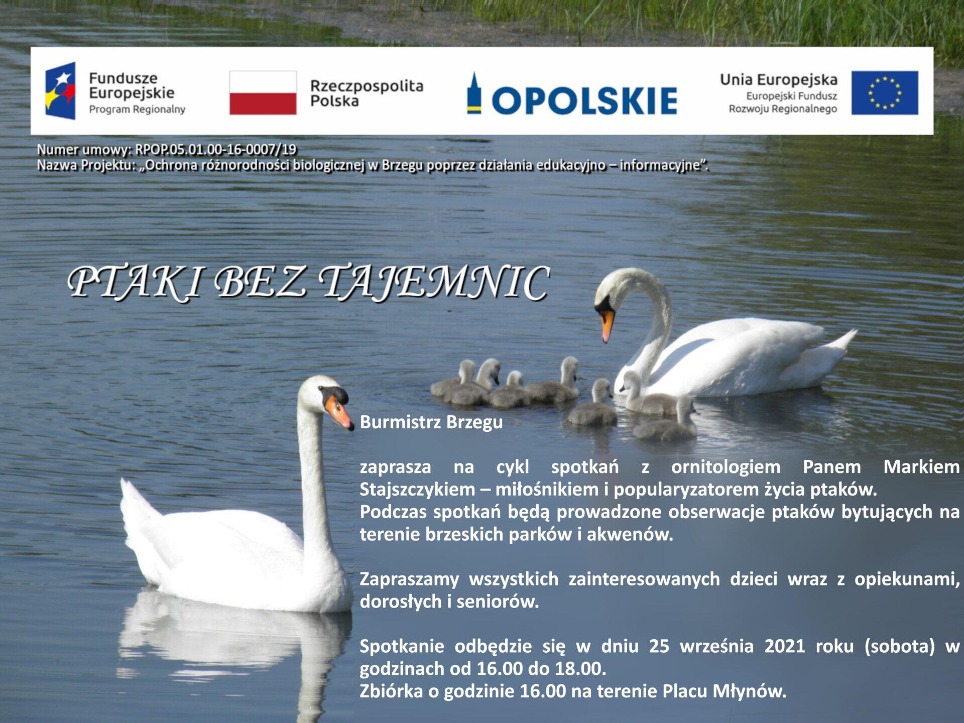 spotkanie z ornitologiem