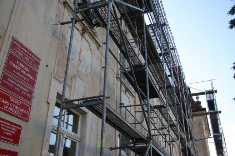 Trwa Remont Dachu Na G Wnym Budynku Urz Du Przy Ul Robotniczej