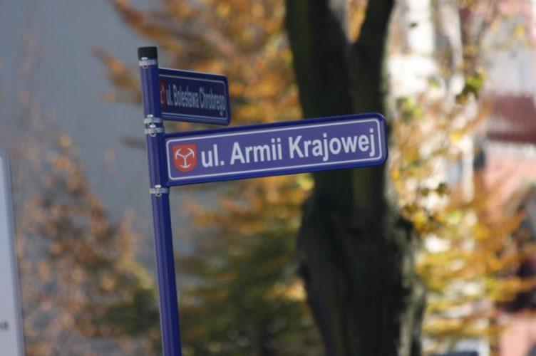 Bardziej Czytelne I Z Herbem Miasta Czyli Nowe Tabliczki Na Brzeskich Ulicach