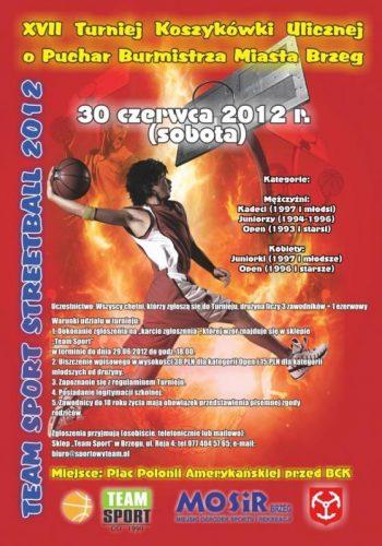 Dzi Turniej Koszyk Wki Ulicznej W Brzegu