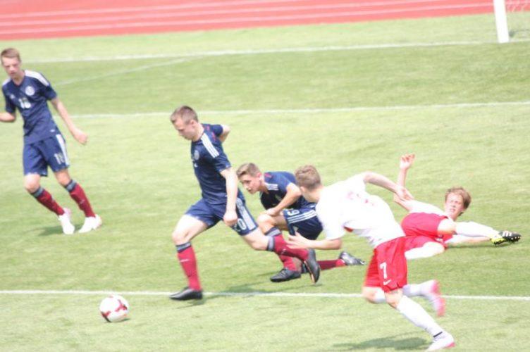 Mecz Reprezentacji Krajowych U 15 Polska Szkocja W Brzegu Wygrali My 3 1