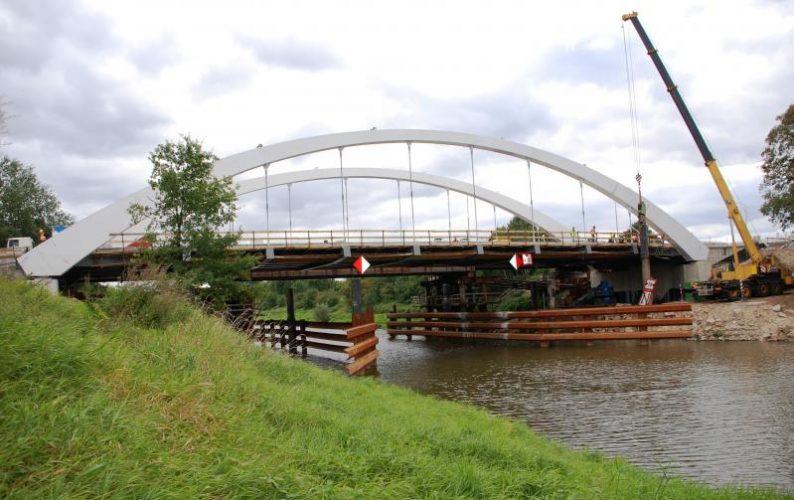 Uwaga Kierowcy Trwa Budowa Nowego Mostu Na Kanale Odry Droga Krajowa Nr 39