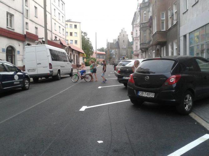 Brzeg Ulica Ksi Cia Jerzego Ii Piasta Ju Po Remoncie